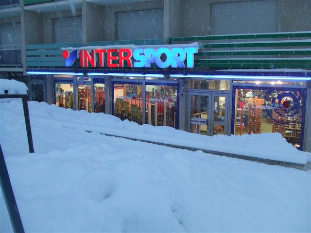 estate agents shop. This INTERSPORT shop is